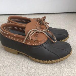 LL Bean Rubber Moc Boots 7